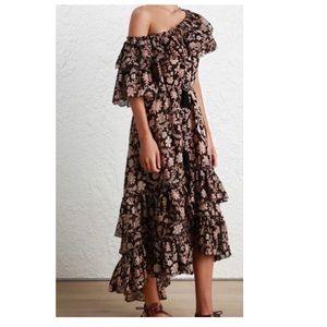 Zimmermann Tulsi floral print frill dress
